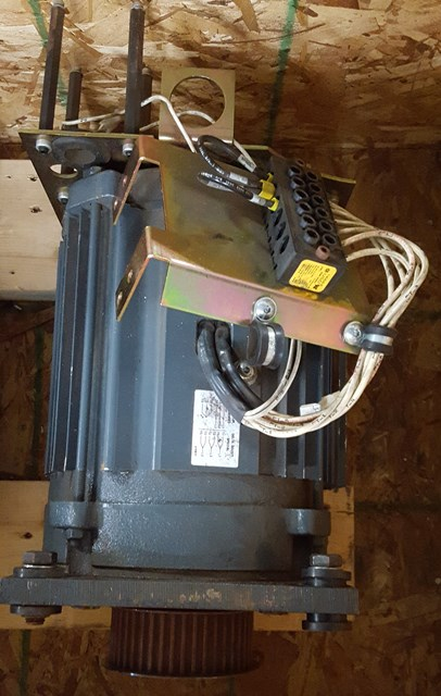 SPINDLE MOTOR, HAAS MINI MILL, 6,000 PRM, 5HP, 200V,