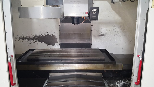 40 X, 20 Y, 25 Z, HAAS VF-3, 1997,4th Pre-wired,P-cool, 4th Axis Ready