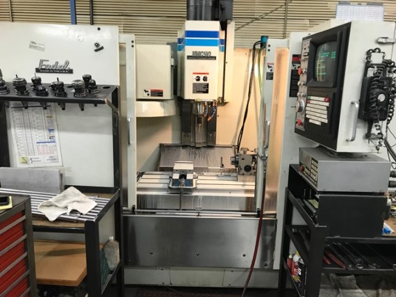 40 X, 20 Y, 20 Z, FADAL VMC-4020, 1994, CNC 88HS, 21ATC, Indexer and control box