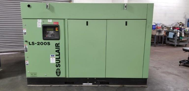 587 CFM, 125 PSI, SULLAIR #LS200SH125, 125 HP, 2014, AC Dryer