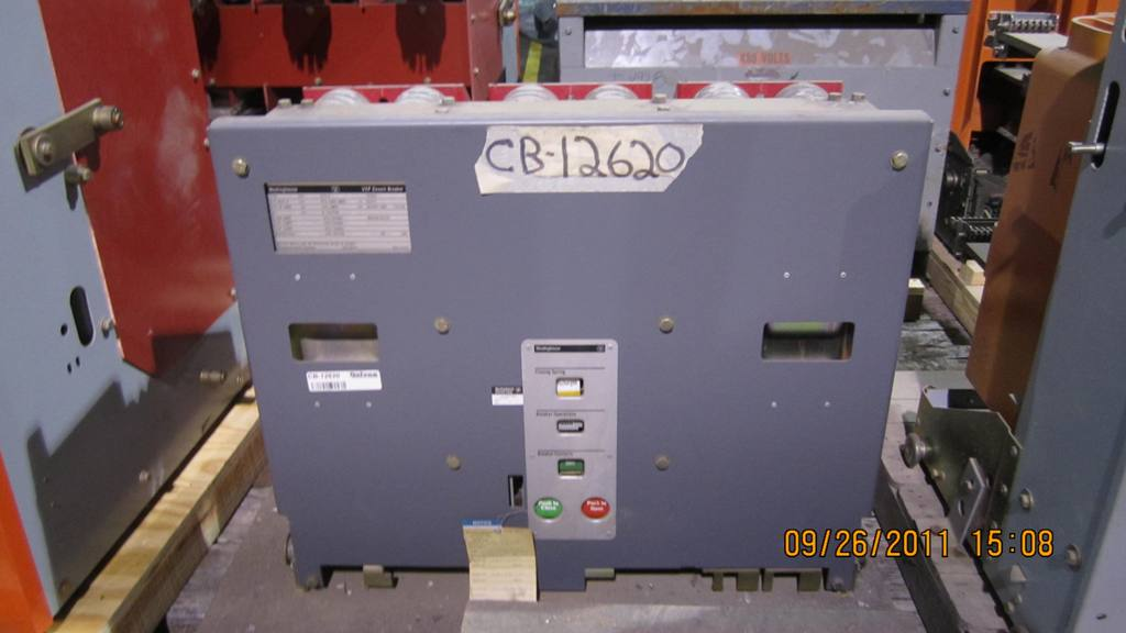 Belyea Company Electric Power Systems Easton Pa: 1200 Amp, WESTINGHOUSE, 150 VCP-500, 13.8 KV, 1984, VACUUM