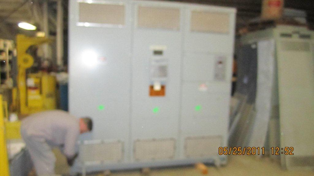 2500/3335 KVA, Pri 12000 D, Sec 480 D, 1994, GENERAL ELECTRIC, DRY, CORE & COILS