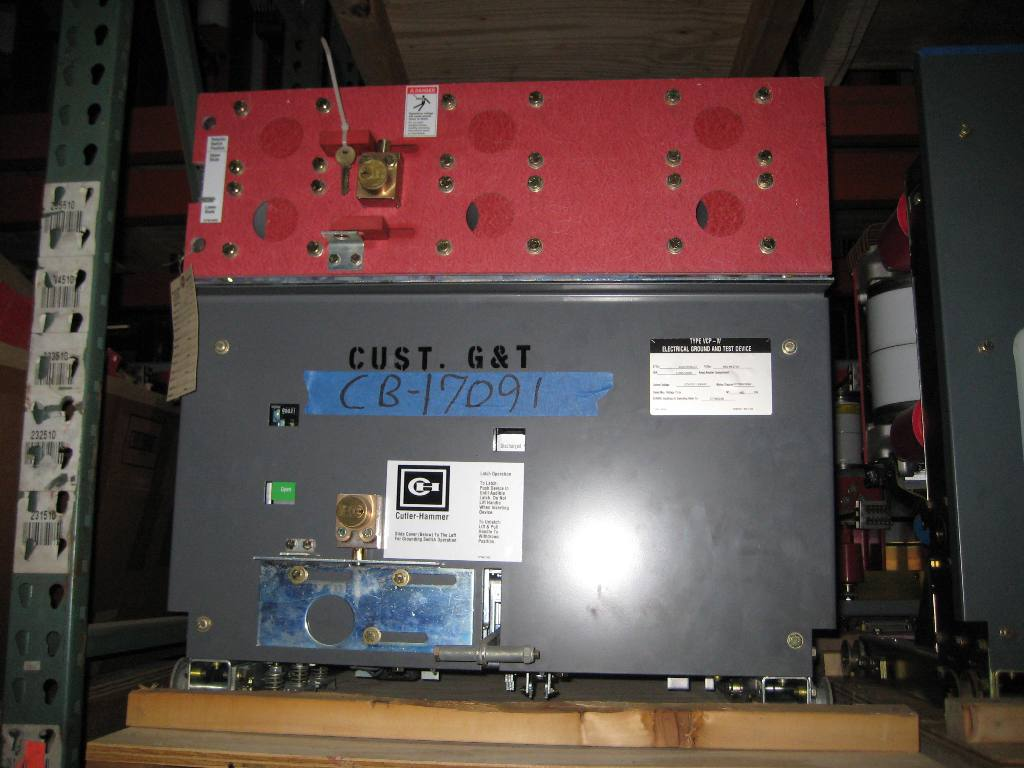 1200  2000 Amp  Cutler Hammer  50  150vcpw Ground  U0026 Test