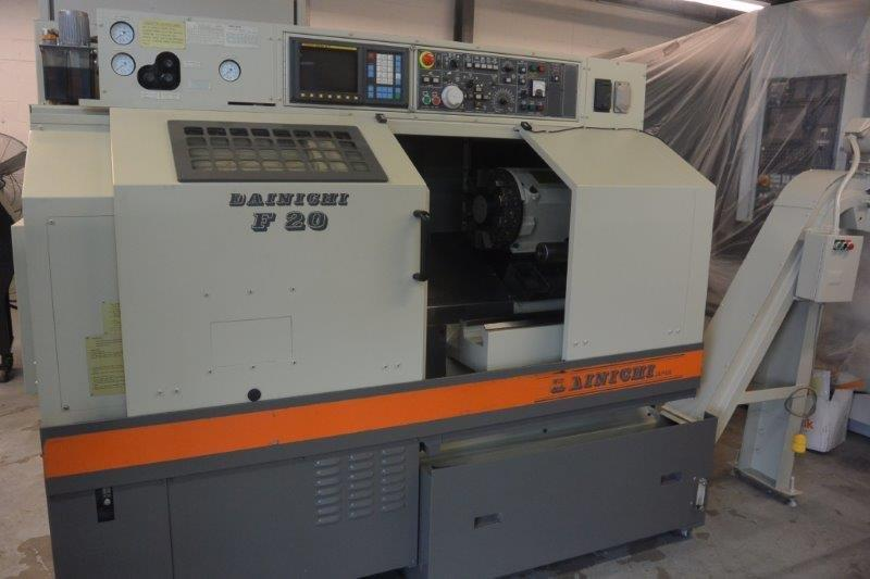 DIANICHI-F20,8 CHK,24 CC,17.7 SWING,2 BAR,15 HP,4500-RPM,FANUC-0TC,NEW-1992